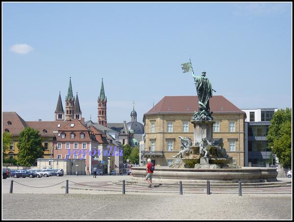 德國 烏茲堡 烏茲堡主教宮 Würzburger Residenz, Würzburg