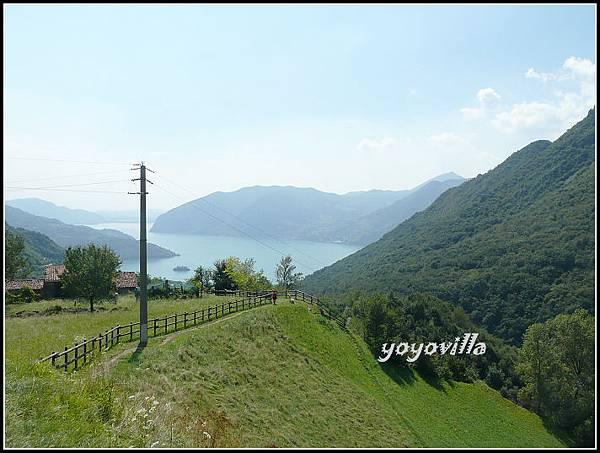 意大利 伊賽奧湖 奇斯拉諾 Cislano, Lago d'Iseo, Italy