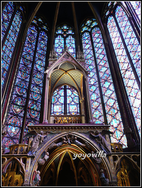 法國 巴黎 聖禮拜堂 La Sainte Chapelle, Paris, France