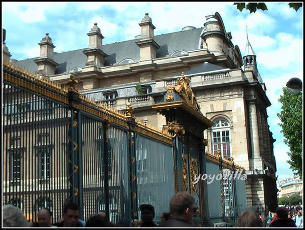 法國 巴黎 聖禮拜堂 La Sainte Chapelle, Paris, France