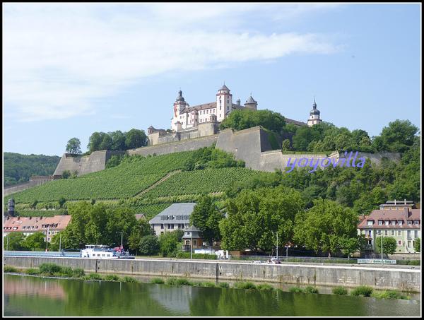 德國 烏茲堡 老緬茵橋 Alte Mainbrücke, Würzburg, Geramny