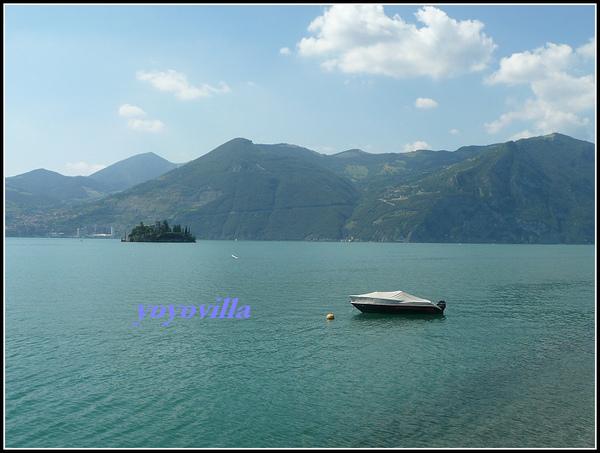 意大利 伊塞奧湖 Lago d'Iseo, Italy