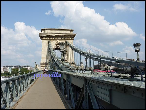 匈牙利 布達佩斯 鍊子橋 Chain Bridge, Budapest, Hungary