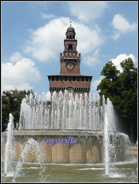 意大利 米蘭 史福才古堡 Castello Sforzesco, Milano, Italy