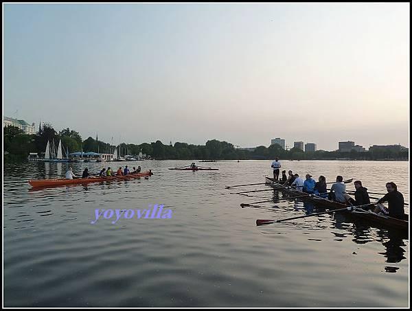 德國 初中生的划船課