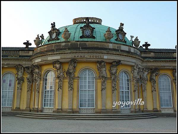 德國 波斯坦 Sanssouci 皇宮  Potsdam, Geramny