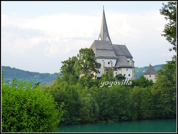 奧地利 瑪麗亞 沃特 Maria Wörth, Austria