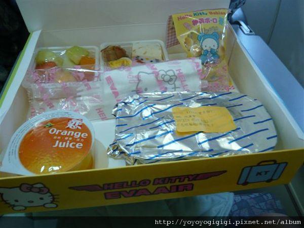 兒童餐(有餐盒、生菜捲、餅乾、水果和果汁)