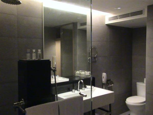 華麗的浴室...