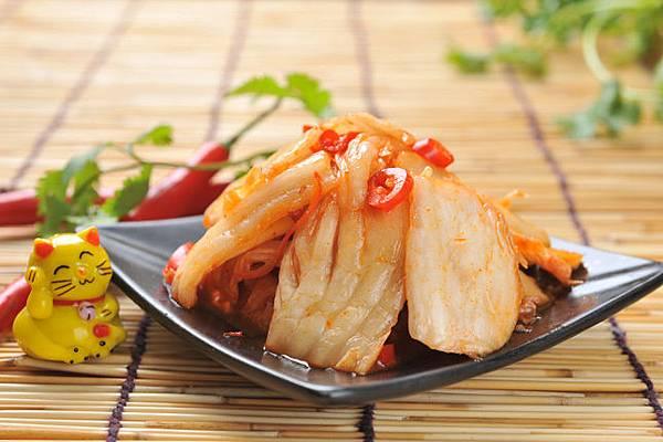 益康美食館-黃金泡菜500g