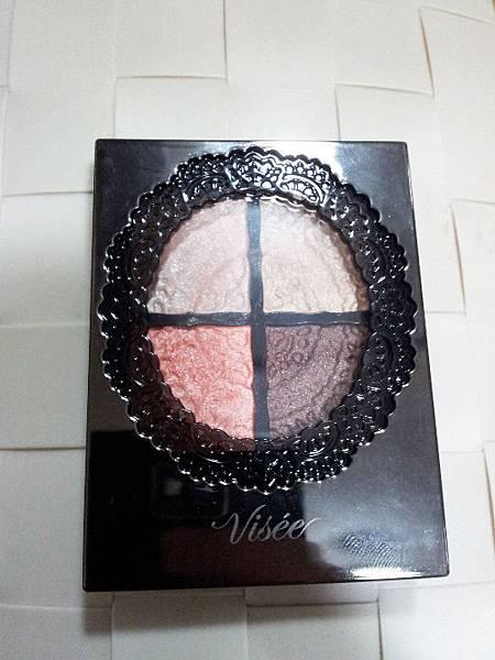 【美妝】超有質感的眼影♥愛不釋手♥VISEE晶緞光漾眼影盒