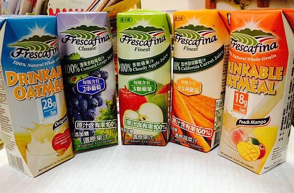 【生活】喝的健康也喝的安心♥嘉紛娜 100%天然純果汁&100%天然全榖燕麥
