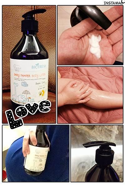 【身體】滋潤柔嫩的肌膚溫和低敏配方♥Biofresh 寶貝潔淨保濕身體乳♥