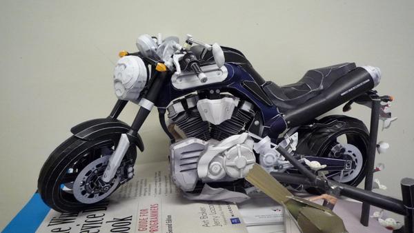 歐多拜紙模型