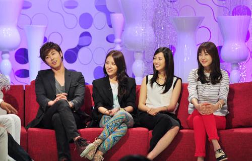 Yunho+BoA+Go-Ara+Yeonhee