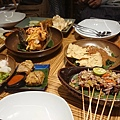 印尼餐廳的料理