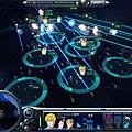 銀河英雄傳說2008年遊戲版的戰鬥畫面