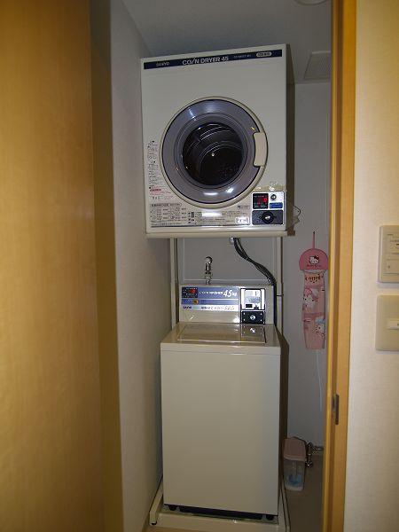 東京民宿-洗衣機和烘乾機