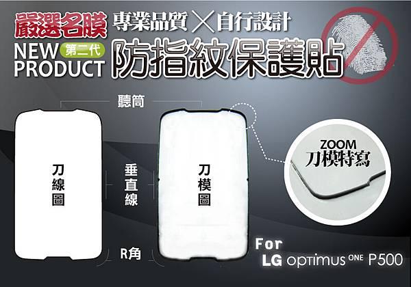 LG Optimus One P500 精準版螢幕保護貼4.jpg