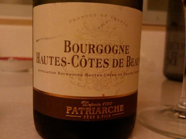 2006 Patriarche bourgogne hautes-cotes de beaune