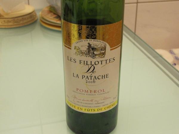 再飲 2006 Les Fillottes de La Patache