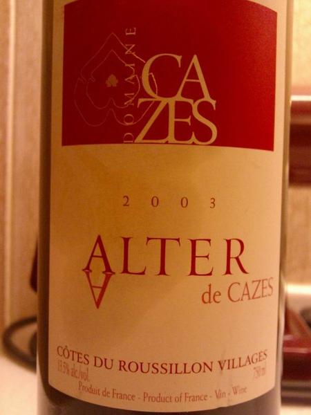 2006 Alter de CAZES
