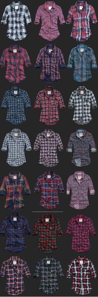 AF plaid shirts