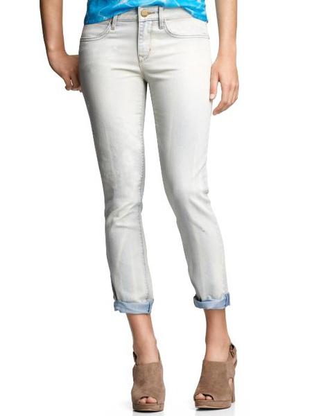 gap Always skinny destructed jeans (bleached wash)