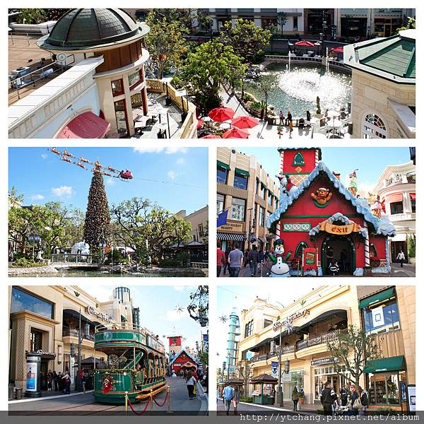 the Grove at LA