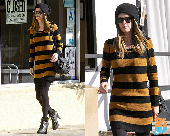 nicky-hilton-Madewell-Striped-Lamppost-Sweaterdress.jpg