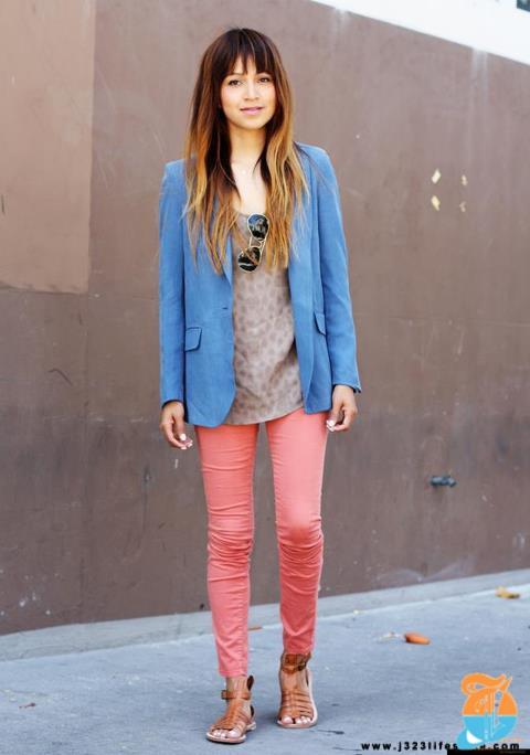 pastel jeans blogger