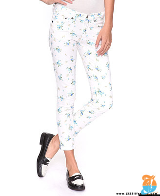 f21 Bluebonnet Denim Capris
