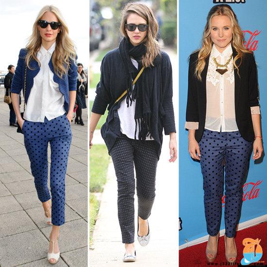 Jessica-Alba-Polka-Dot-Jeans