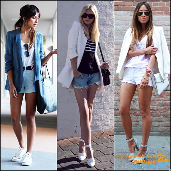 shorts w blazers