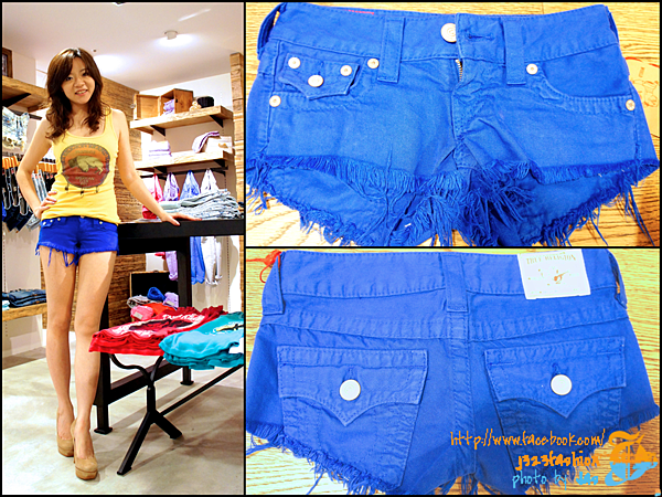 TR- joey shorts royal blue