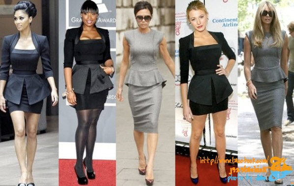 Peplum-dress-celebrities-2012