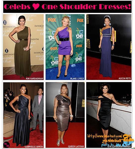 celebs-love-one-shoulder-dresses