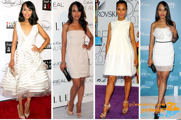kerry-washington-white-dresses