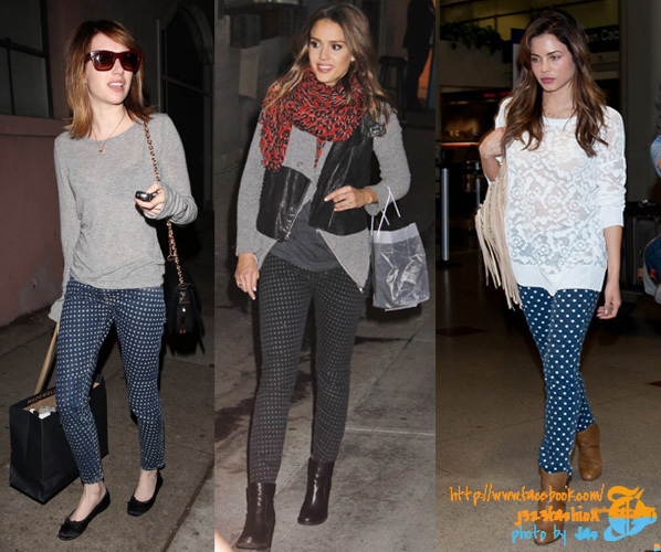 Celebrities-in-Polka-Dot-Jeans