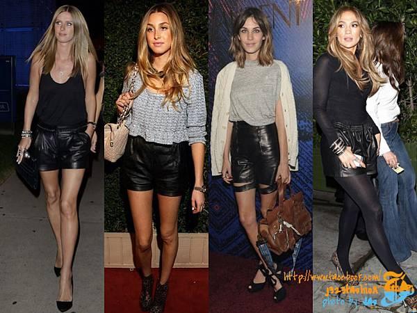 Leather Shorts1