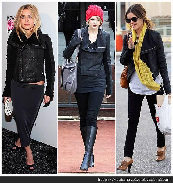 celebrities-rick-owens-biker-leather-jacket