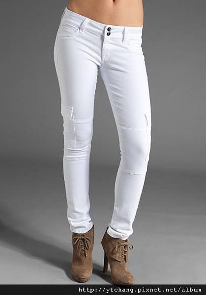 hudson white jeans