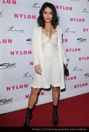 Vanessa hudgens white dress
