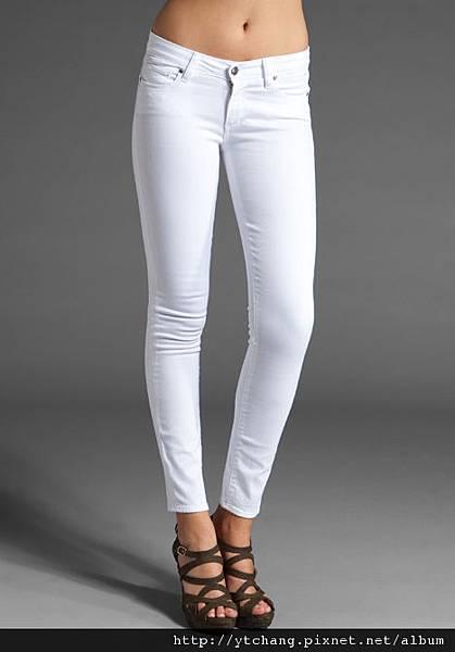 Paige Premium Denim Verdugo Jegging in Optic White