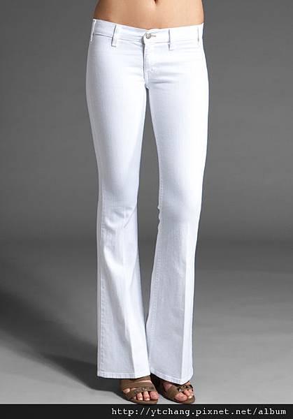 textile white jeans