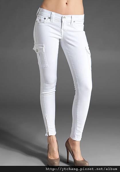 TR white jeans