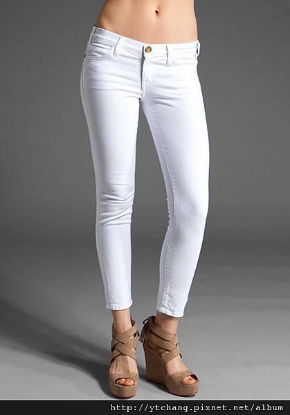 c/e white jeans