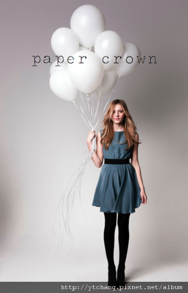 LC paper crown lookbook