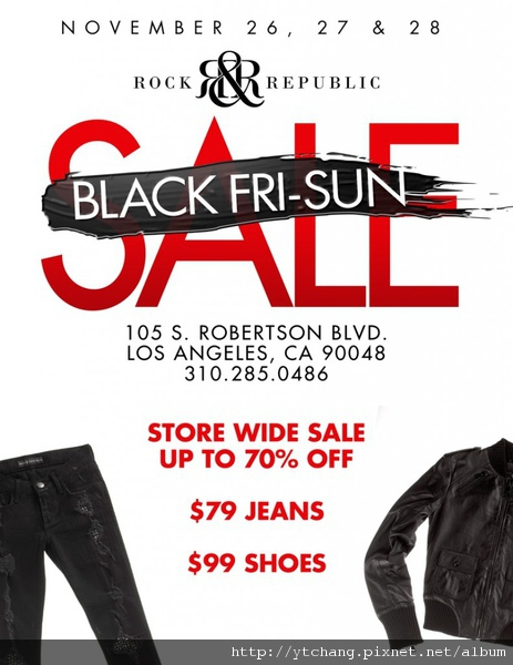 Rock & Republic sale
