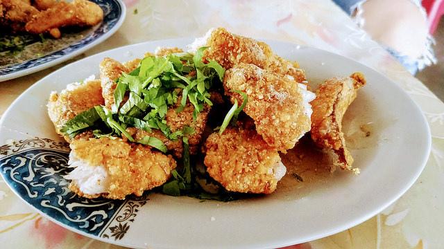 阿安紅燒土魠魚羹